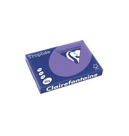 Clairefontaine Papier Clairefontaine Trophée Intens A3 violet, 80 g, 500 vel