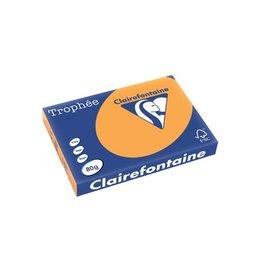 Clairefontaine Papier Papier Clairefontaine Trophée A3 80gr Oranje 500vel