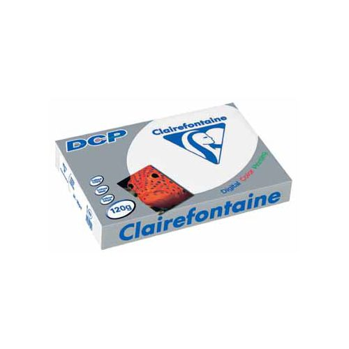 Laserpapier Clairefontaine DCP A4 120gr wit 250vel
