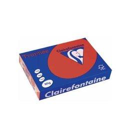 Clairefontaine Papier Papier Clairefontaine Trophée A4 80gr Kersenrood 500vel