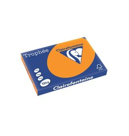 Clairefontaine Papier Papier Clairefontaine Trophée A3 120gr Fel Oranje 250vel