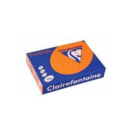 Clairefontaine Papier Clairefontaine Trophée Intens A4 feloranje, 80 g, 500 vel