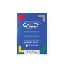 Gallery Gallery witte etiketten ft 70 x 35 mm (b x h), rechte hoeken