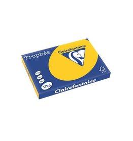 Clairefontaine Papier Clairefontaine Trophée Intens A3 zonnebloemgeel, 120g 250vel