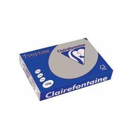 Clairefontaine Papier Clairefontaine Trophée Pastel A4 lichtgrijs, 120 g, 250 vel