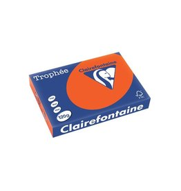 Clairefontaine Papier Clairefontaine Trophée Intens A4 kardinaalrood, 120g 250 vel