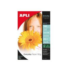 Apli Apli Fotopapier Everyday 10x15cm 180gr Wit 20vel