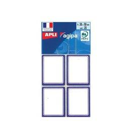 Agipa Agipa schooletiketten ft 38 x 50 mm (b x h), 32 etiketten pe