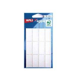 Agipa Agipa witte etiketten in etui 15x35mm (bxh),84st,12 per blad