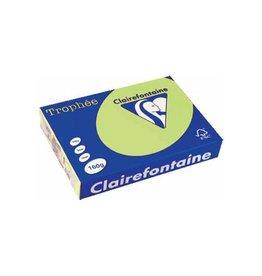 Clairefontaine Papier Papier Clairefontaine Trophée A4 160gr Golfgroen 250vel