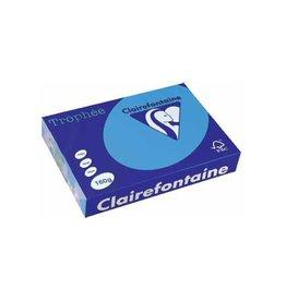 Clairefontaine Papier Papier Clairefontaine Trophée A4 160gr Koningsblauw 250vel