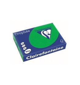 Clairefontaine Papier Papier Clairefontaine Trophée A4 160gr Biljartgroen 250vel