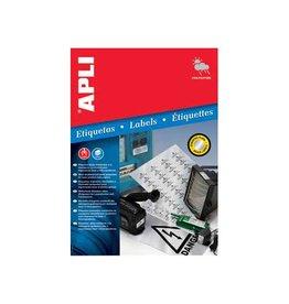 Apli Apli Zilverkleurige etiketten ft 45,7 x 21,2 mm (b x h), 960