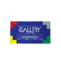 Gallery Gallery enveloppen ft 114 x 229 mm met venster rechts en str