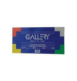 Gallery Gallery enveloppen ft 114 x 229 mm zonder venster, met strip