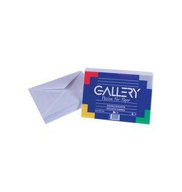 Gallery Gallery enveloppen ft 114 x 162 mm, gegomd, pak van 50 stuks