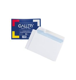 Gallery Gallery enveloppen met stripsluiting, pak van 50 stuks