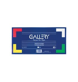 Gallery Gallery enveloppen zonder venster, pak van 50 stuks