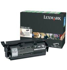 Lexmark Toner Lexmark X651 Black 7K