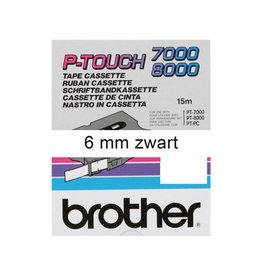 Brother Lettertape BROTHER p-touch tx211 6mm wit