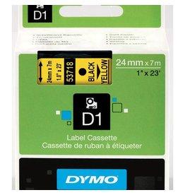 Dymo Lettertape Dymo 53718 d1 24mmx7m poly ge