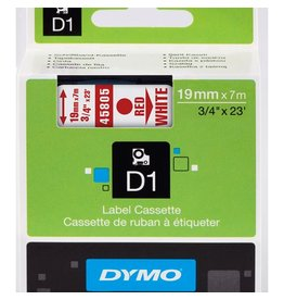 Dymo Lettertape Dymo 45805 d1 19mmx7m poly wi