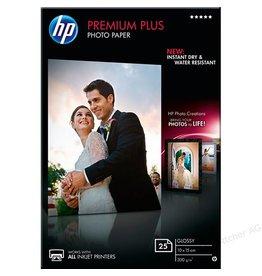HP Fotopapier HP CR677A Premium+ 10x15cm 300gr Wit Glossy 25vel
