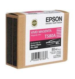 Epson Ink Epson T580a vivid Magenta 80ml