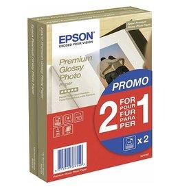 Epson Fotopapier Epson SO42167 10x15cm 251gr Wit Glossy 2x40vel