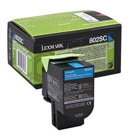 Lexmark Toner Lexmark 802sc Cyan 2K