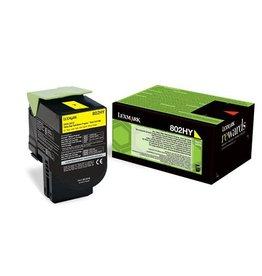 Lexmark Toner Lexmark 802HY Yellow 3K