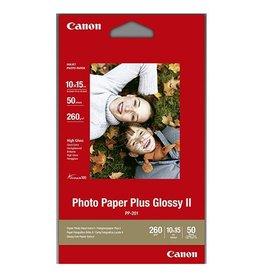 Canon Fotopapier Canon PP201 10x15cm 260gr Wit Glossy 50vel