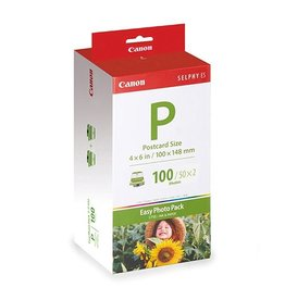 Canon Photopack Canon EP100 Selphy 10x15cm 245gr Wit 100vel