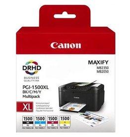 Canon Multipack Canon PGI1500XL BKCMY 34,7/3x12ml
