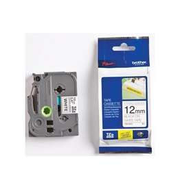 Brother Lettertape Brother P-touch TZES231 Zwart op Wit