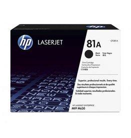 HP Toner HP CF281A, Nr.81, Black, 10,5K