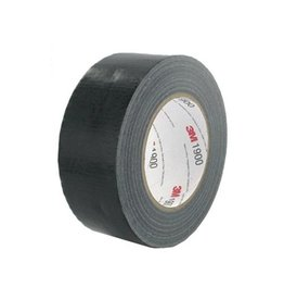 3M 3M duct tape 1900, ft 50 mm x 50 m, zwart