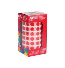 Apli Kids Apli Kids stickers rond, rood, op rol