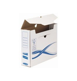 Bankers Box Bankers Box Basic, transfer archiefdoos, ft A4+, 8cm [25st]