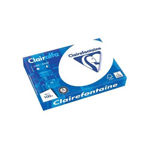 Clairefontaine Clairalfa Printpapier DIN A3 100 g-m² 500 vellen Wit