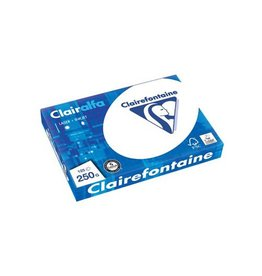 Clairefontaine Clairefontaine Clairalfa presentatiepapier A4,250g pak125vel