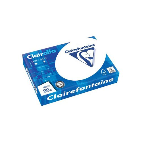 Clairefontaine Clairefontaine Clairalfa presentatiepapier A4,90g pak 500vel