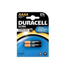 Duracell Duracell batterijen Ultra Power AAAA, blister van 2st