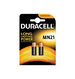 Duracell Duracell batterijen Alkaline Security MN21, blister van 2st