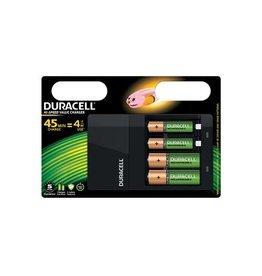 Duracell Duracell batterijlader Hi-Speed Charger + 2AA en 2AAA batt.