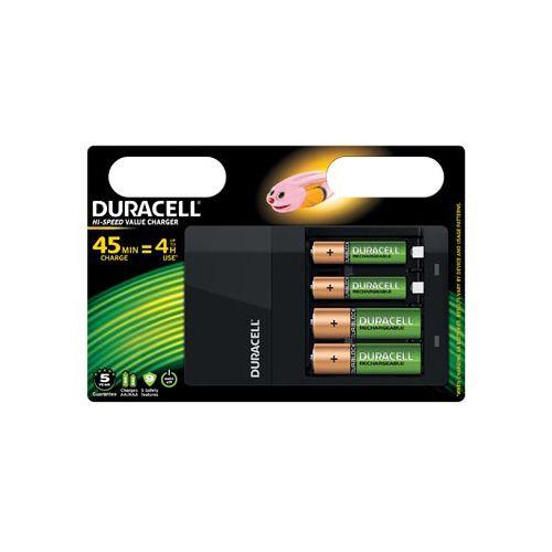 Duracell CEF14 4U LADER+2AA BATTERIJEN (037199)