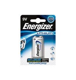 Energizer Energizer batterij Lithium 9V, op blister