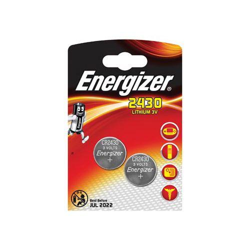 Energizer Knoopcel CR 2430 Lithium 290 mAh 3 V 2 stuks