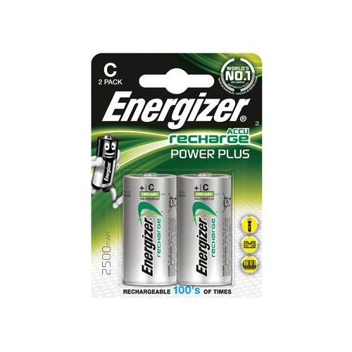 Energizer Enrc2500p2 Batterij Nimh C-lr14 1.2 V 2500 Mah Powerplus 2-blister