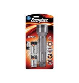 Energizer Energizer zaklamp Metal LED 2D, inclusief 2 D batterijen